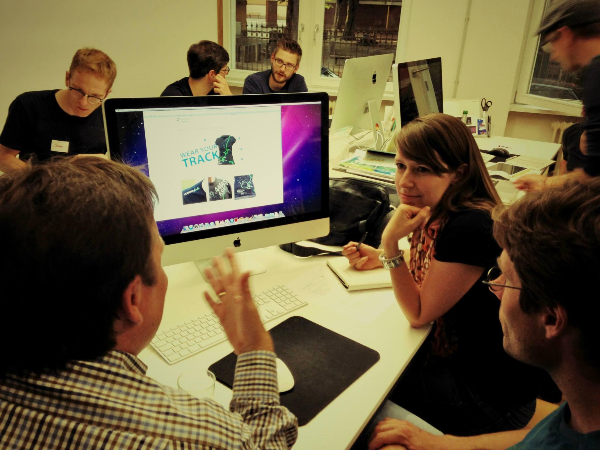 Darmstadt usability testessen for Designagentur darmstadt